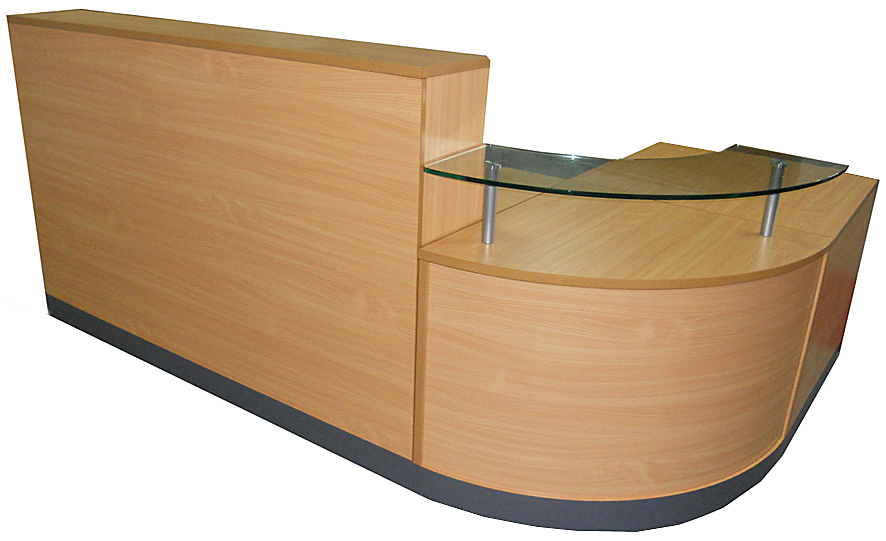 Reception Counter Beech